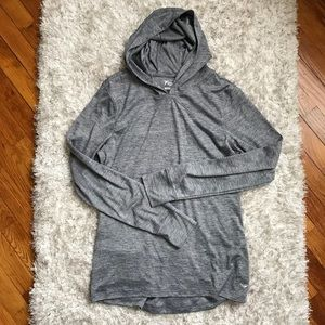 Old Navy Go Dry Gray Active Hoodie Size Large
